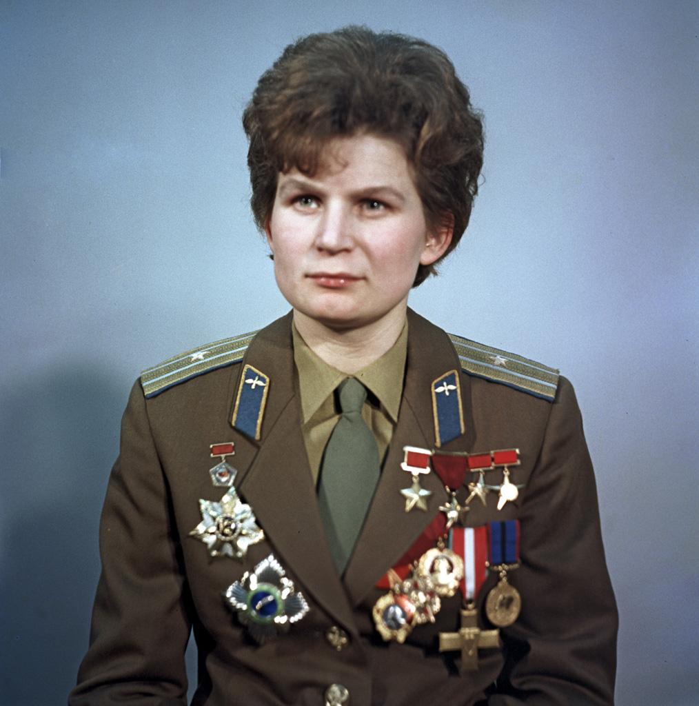 Valentina Tereshkova, de eerste vrouw in de ruimte